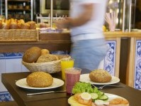 The morning can not start without a good breakfast. Our neighbouring backery will provide you with many freshly made options; juices, sandwiches, warm pasteries and many things more.